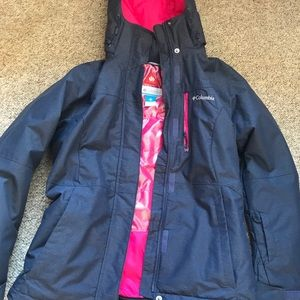 Columbia winter jacket. size small
